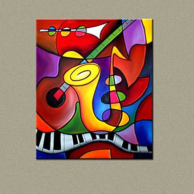 MX Hand-Painted Oil Painting Abstract Painting With Stretched Frame 9114 – EUR € 23.92