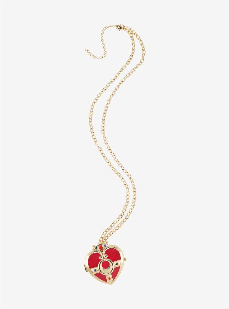☆ Sailor Moon - Cosmic Heart Compact Locket Watch Necklace ☆