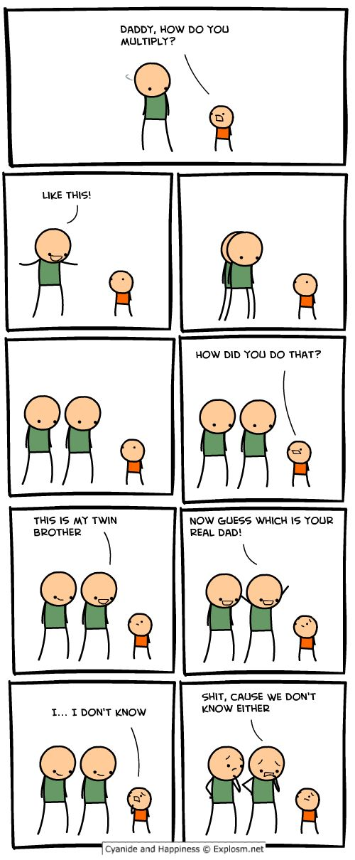 Just wanted to share my favourite Cyanide and Happiness