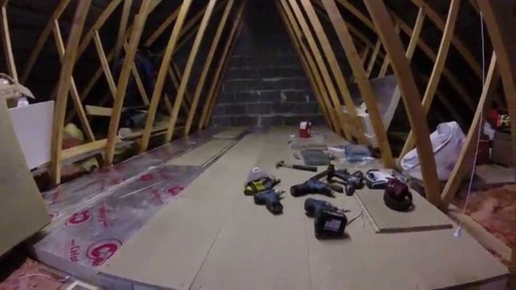 boarding your loft part 2 loft insulation board tools. Black Bedroom Furniture Sets. Home Design Ideas