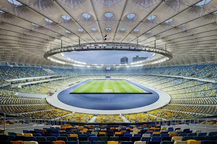 Pictures - Olympic Stadium, Kiev, Ukraine - © Marcus Bredt - Architizer