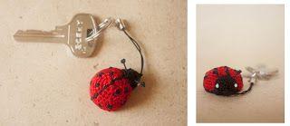 Miracles of Yarn: МК Lady Bug или как связать частичку лета....