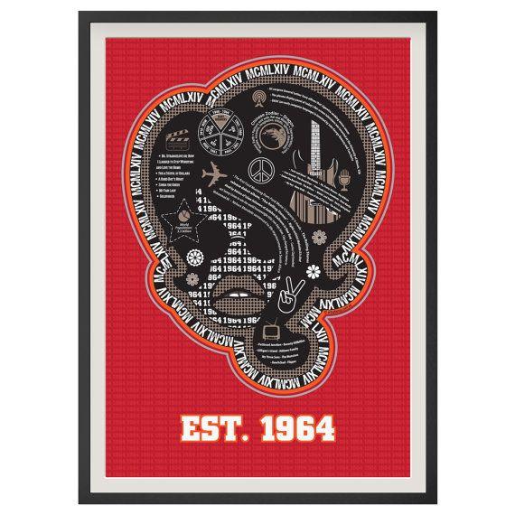 Born in 1964?  1964 - Framed Poster