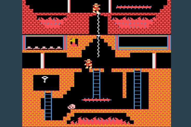 Screenshot from the Atari game Montezuma's Revenge