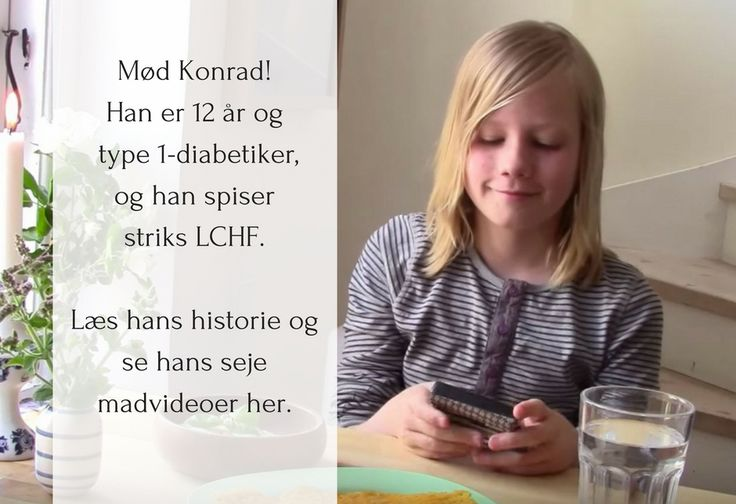 Konrad på 12 har type 1-diabetes og spiser striks LCHF