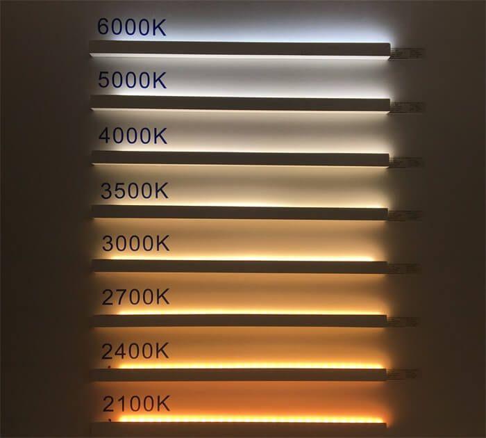 2835 LED Strip CCT 06 Architectural lighting design, Led