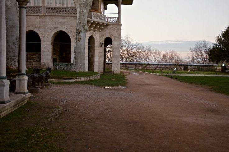 Backyard palace Topkapi