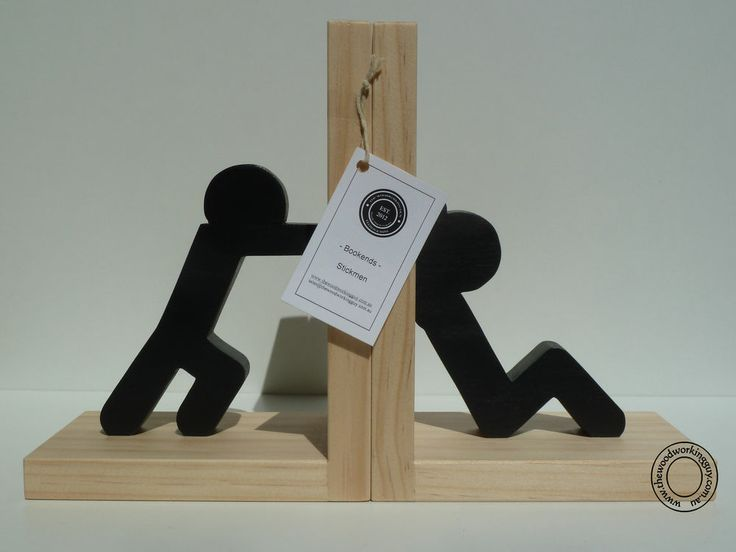 Fun Stickman Bookends  Stickmen Book Ends Home Decor Modern Cool 252 best images on Pinterest holders and Books