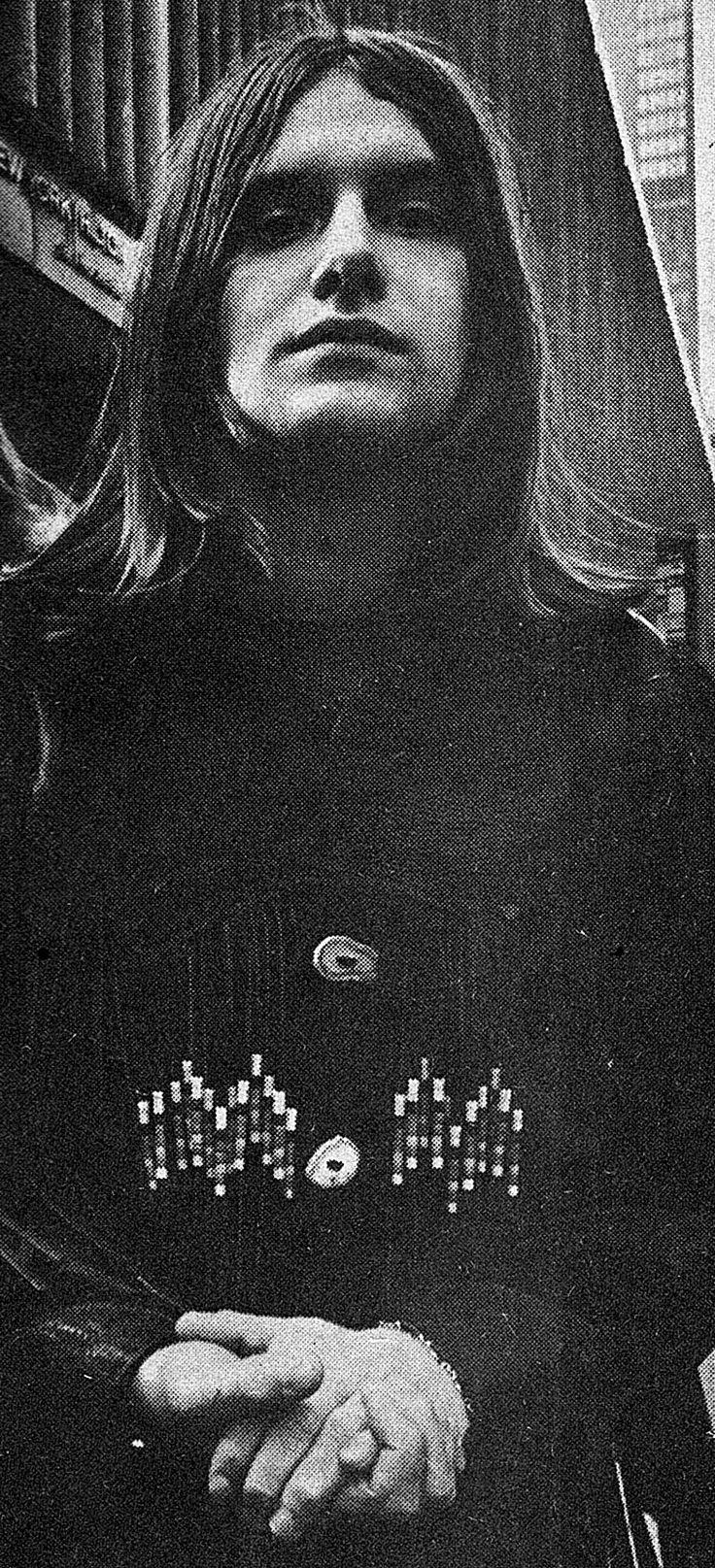 Carl Palmer - Emerson, Lake & Palmer - ELP - Photo taken in NYC Nov 10 1971
