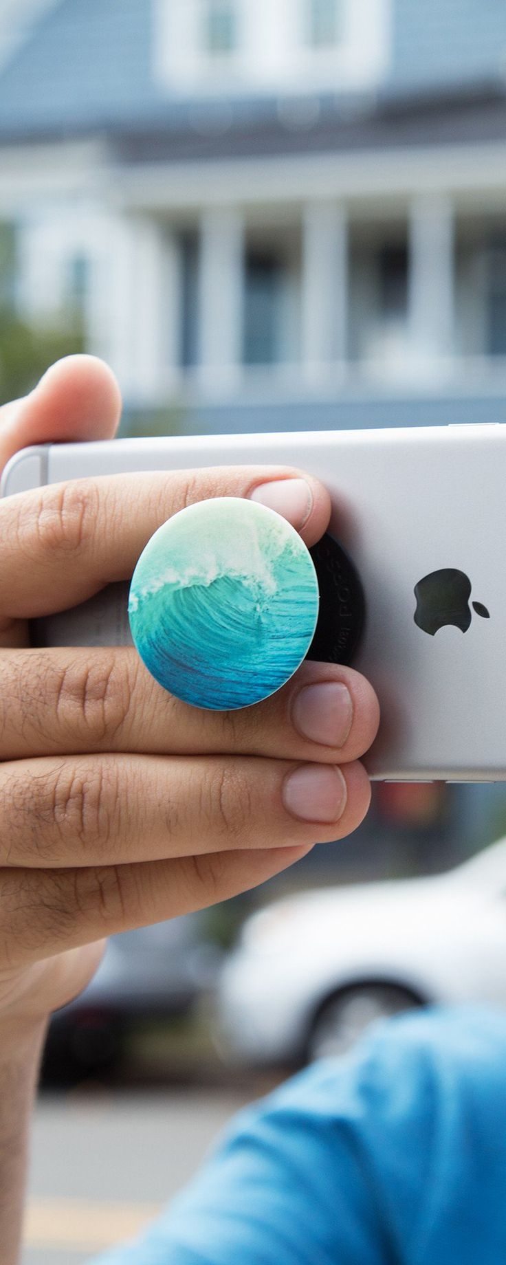 PopSockets' collapsible animal phone grip, discovered by The Grommet, turns your…