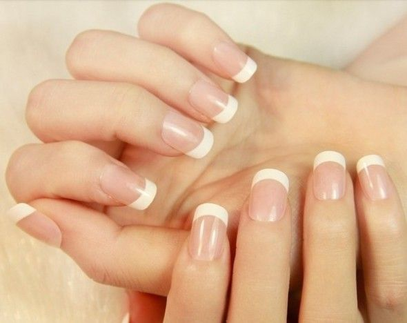Get Perfect French Manicure Home & Natural French Manicure