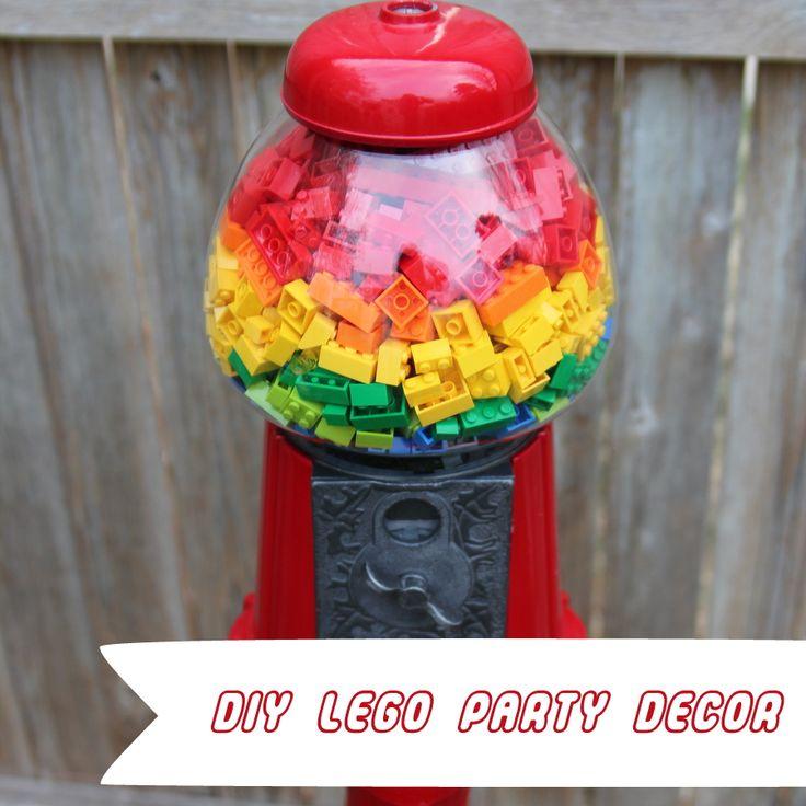 DIY Lego Party Decor - Such Cute Ideas!
