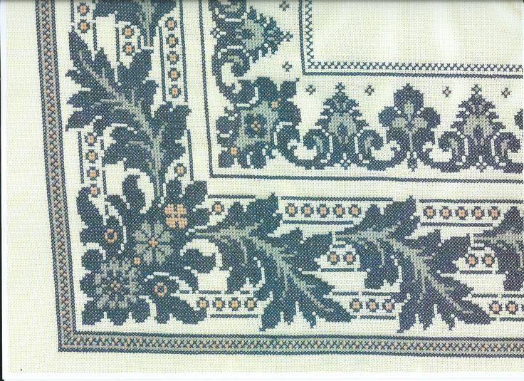 17 Best Images About Filet Crochet Tablecloths And Runners