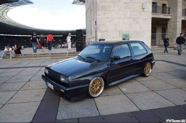 Vw golf Rallye Mk2