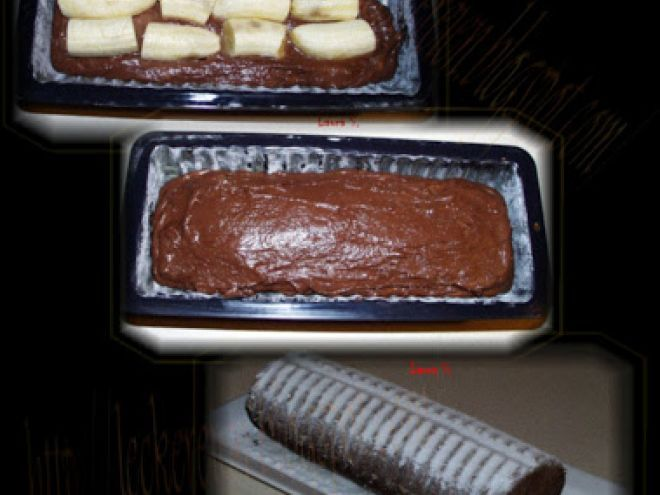 Chec de cacao cu banane, Rețetă de Laura S. - Petitchef