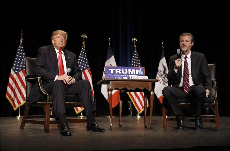 Liberty University Board Member Slams Fallwell Jr.'s Endorsement of Trump