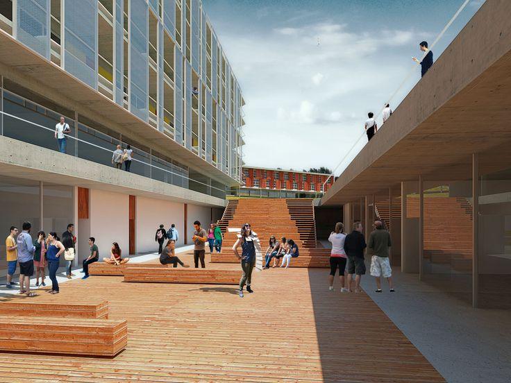 Galeria - Segundo lugar no concurso para Moradia Estudantil da Unifesp São José dos Campos / Projeto Paulista de Arquitetura - 4