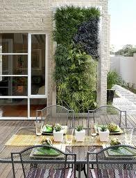 I love this vertical garden idea! So simple, but effective.