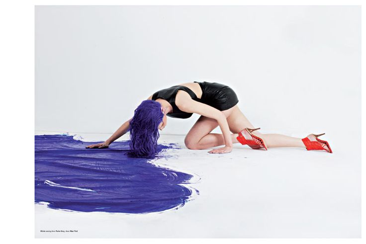 Jana Knauerova, Olivia Gordon & Masha P by Herring & Herring for Kurv #26