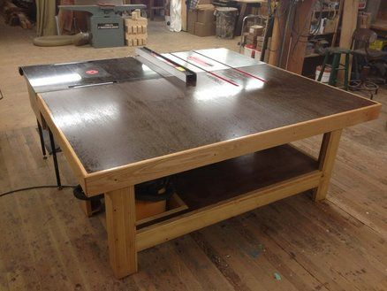 Torsion Box Out Feed   Assembly Table. 28 best Assembly Outfeed Table images on Pinterest