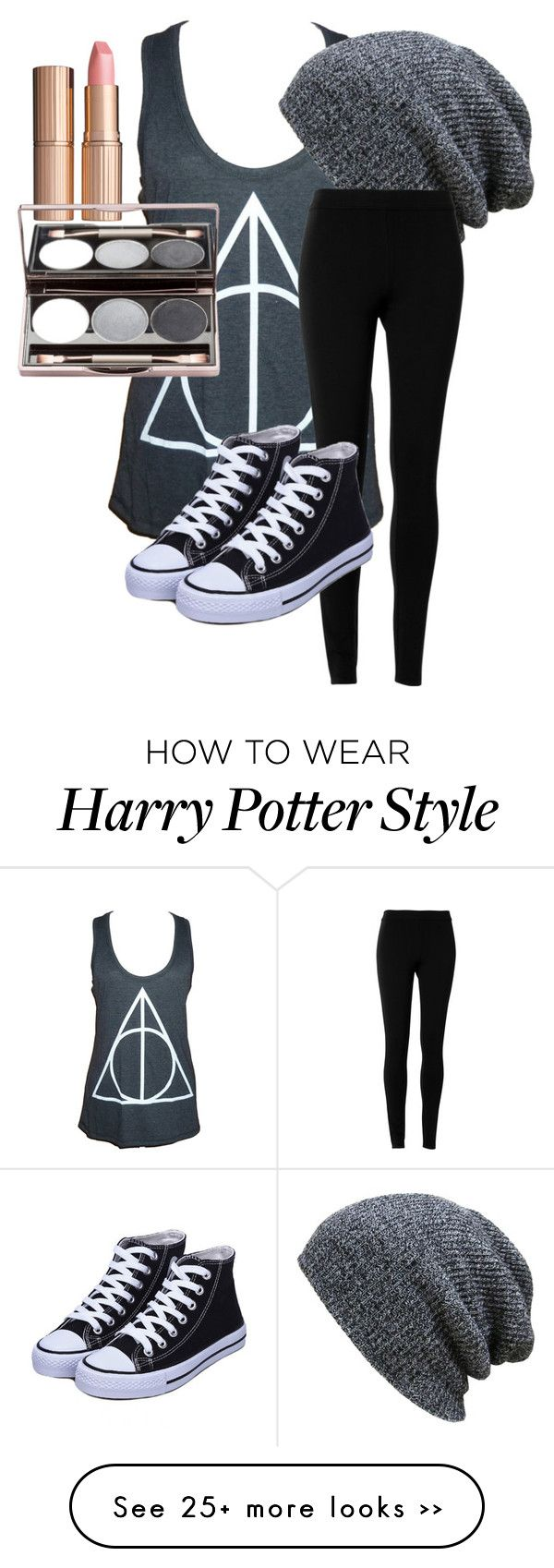"""Harry Potter outfit"" by awesomesauce922 on Polyvore featuring Max Studio and Charlotte Tilbury"