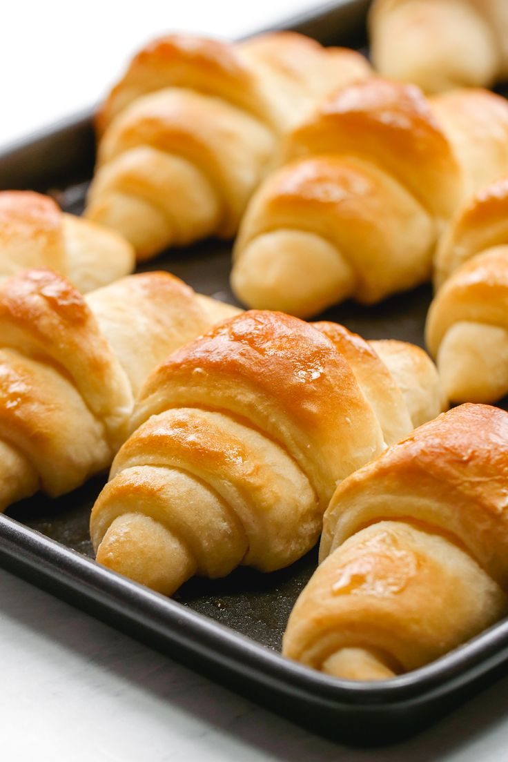 Crescent Rolls: If the smell of fresh baked bread doesn't get your mouth watering the soft inside and golden crust of these crescent rolls will. It...