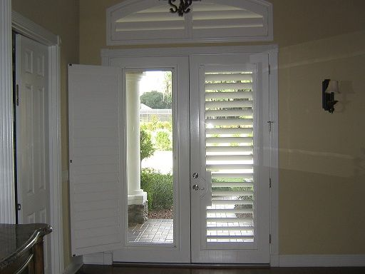 I Am Obsessed With Plantation Shutters And French Doors