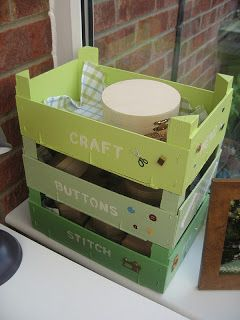 clementine crate repurpose