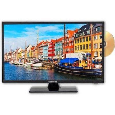 NEW! Sceptre E195BD-SR 19 Class HD LED TV Built-in DVD Player  720p 60Hz HDTV