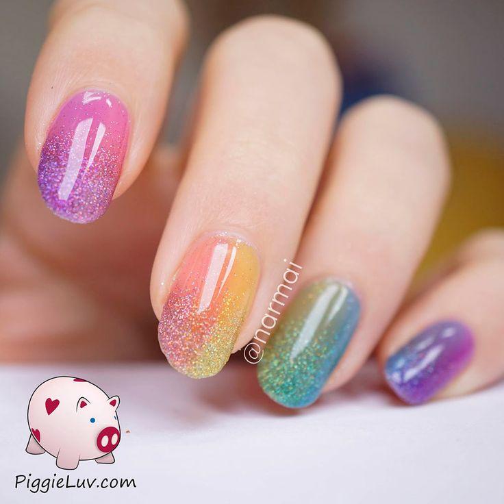 70 Fotos de uñas decoradas para la primavera \u2013 Spring Nail art