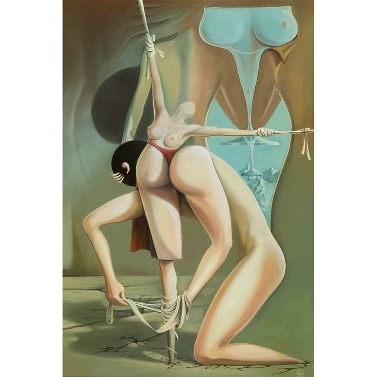 """""""Oedipus Complex"""" by Justin Ghita, Giclee Wall Art"""