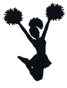 Cheerleader clip art - vector clip art online, royalty free & public domain