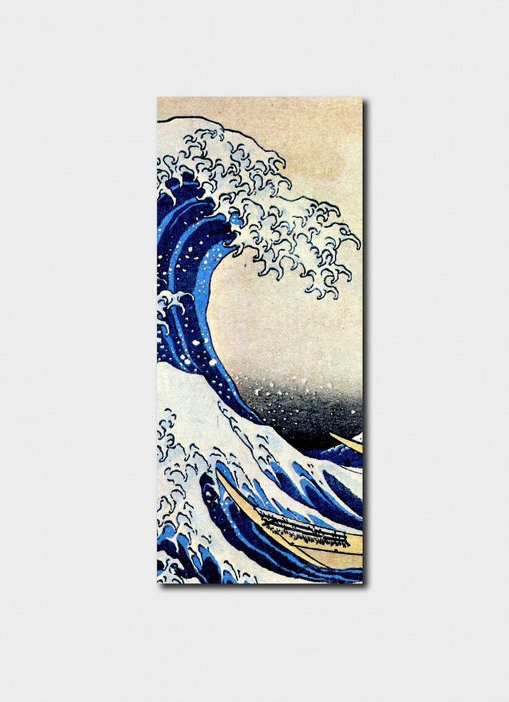 Japanese - The Wave Bookmark