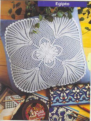 World crochet: Pillow 15
