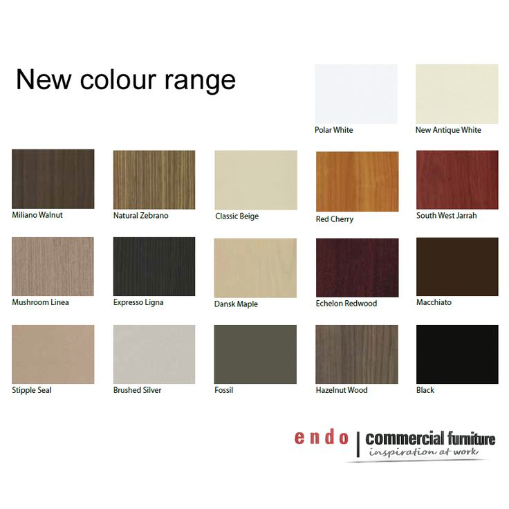 Endo Office Furniture Melbourne is proud to announce its new range of Standard Laminex colours.  Further information can be found at www.endoofficefurniture.com.au
