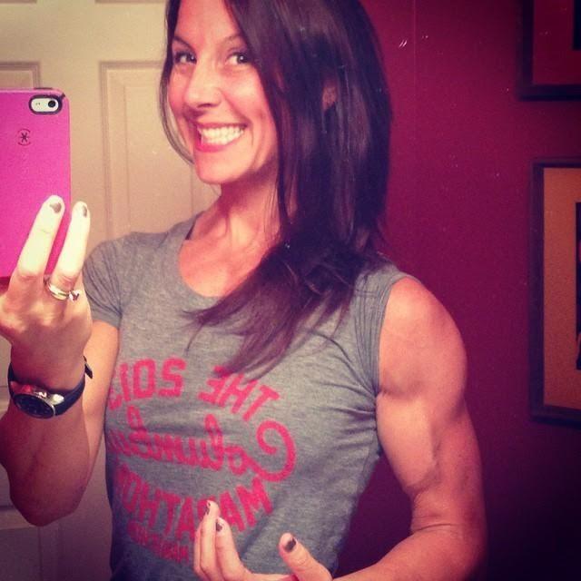 Fitmomforever12 Sneaky Veins Muscular Women Muscle
