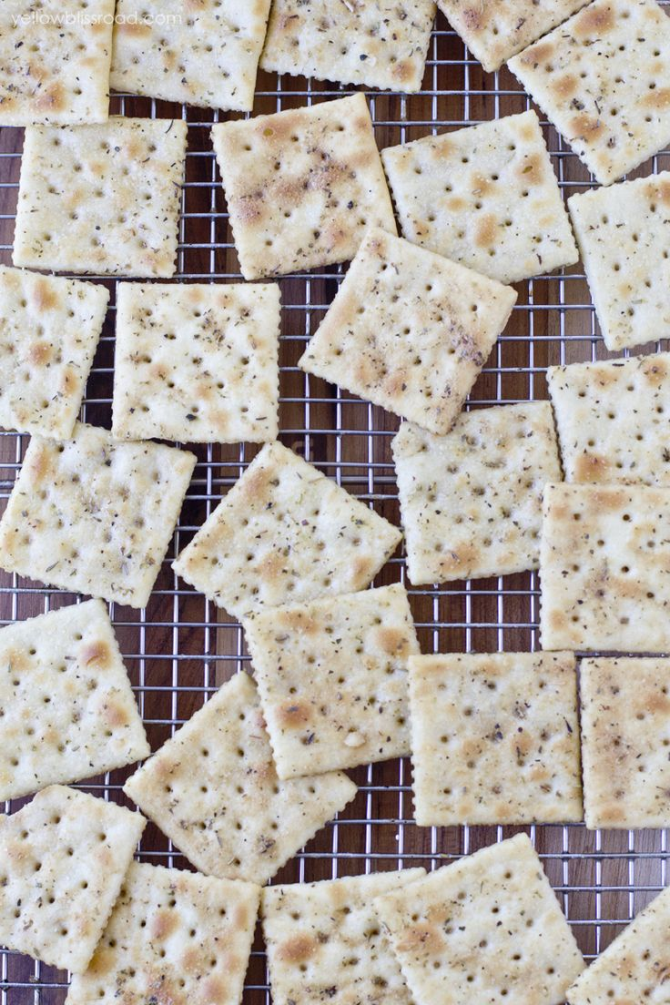 Savory Seasoned Crackers