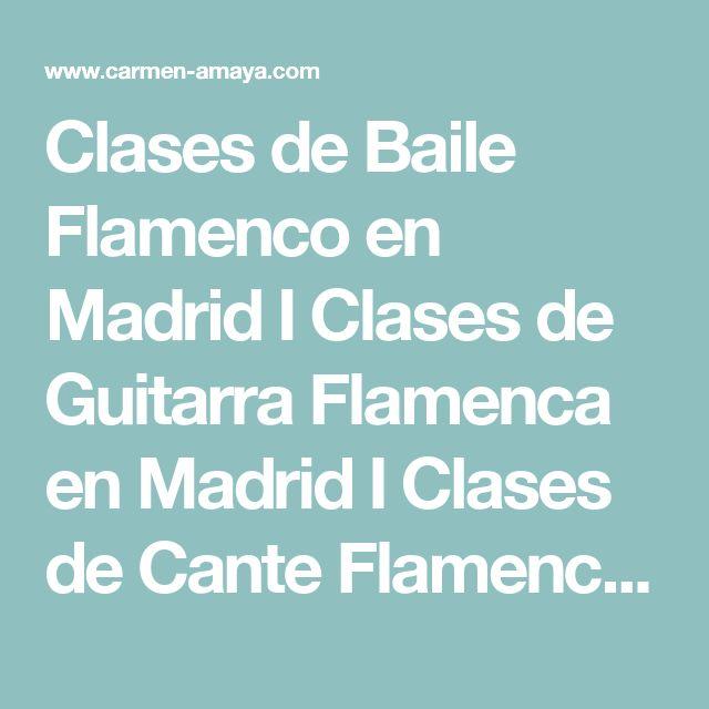 Clases de Baile Flamenco en Madrid I Clases de Guitarra Flamenca en Madrid I Clases de Cante Flamenco en Madrid I Escuela de Flamenco en Madrid I Academia de Flamenco en Madrid I Clases de Baile Flamenco I Clases de Guitarra Flamenca