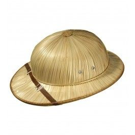 Rieten safari hoed
