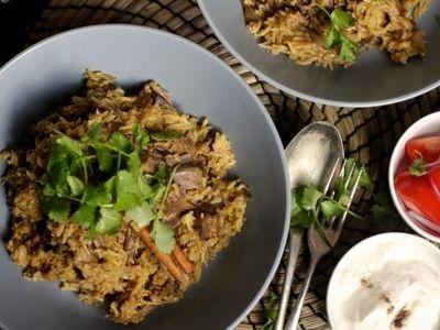 Slow Cooker Beef Biryani recipe