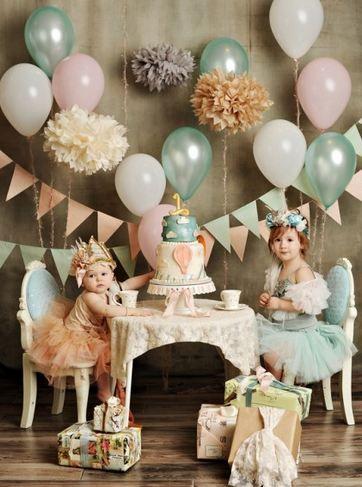 Vintage chic party #girlsbirthday #vintagechicparty