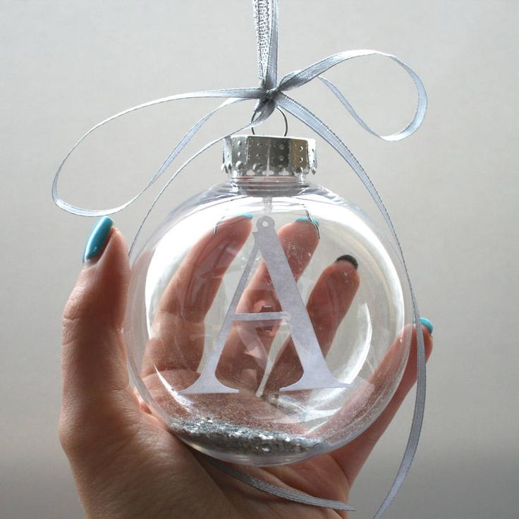 Are you interested in our Personalised bauble? With our Initial ornament you need look no further.