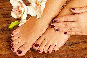 Натуральный уход за кожей ступней