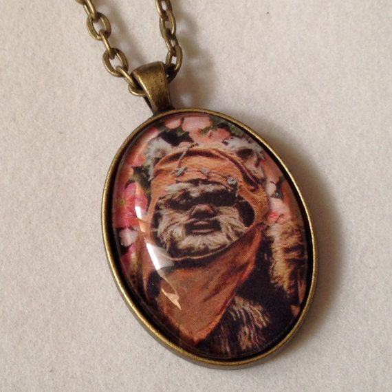 Star Wars  Wicket Ewok Necklace by lfgboutique on Etsy, $15.00