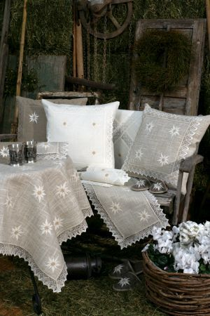 "funda de almohada decorativa ""Edelweiss"", 45x45 cm"