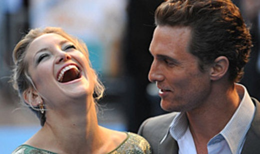 """Kate Hudson & Matthew McConaughey: Co-stars in """"How to Lose a Guy in 10 Days"""" & """"Fool's Gold"""""""