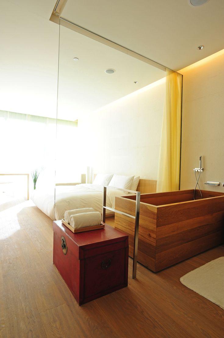 Luxury hotel bathroom designs - Hotel The Opposite House Beijing Design Kango Kama Concept In