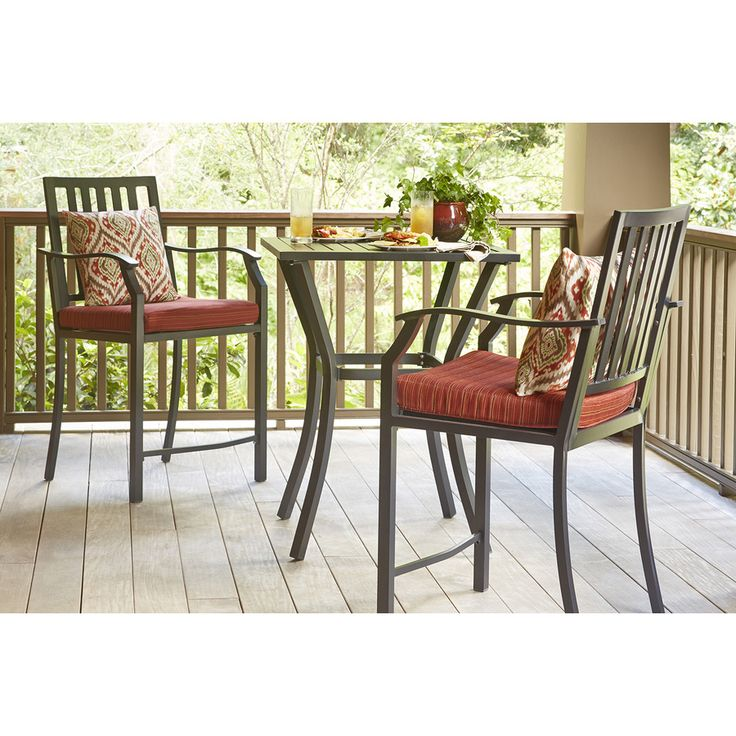 This Balcony Height Patio Set Would Be Perfect For A Small Patio Or Large  Porch.