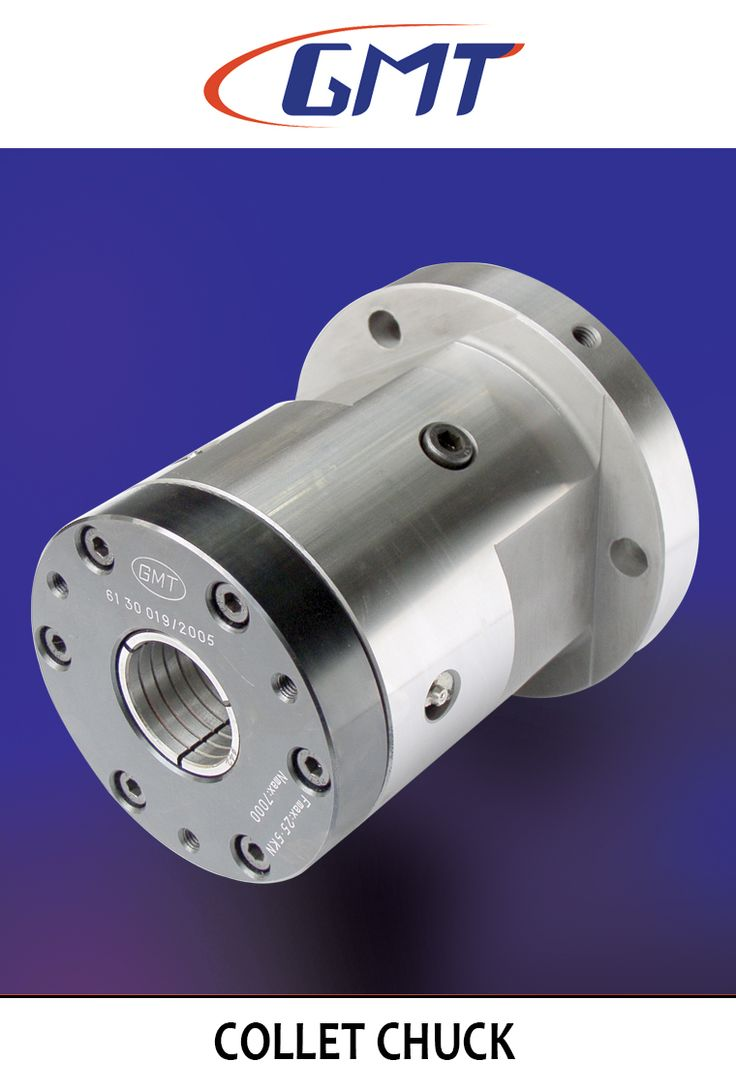 Collect Chuck suitable for machining components like round, square and hexagon with finished gripping areas at high speed. It is used in CNC lathes and is interchangeable with GMT power chucks.