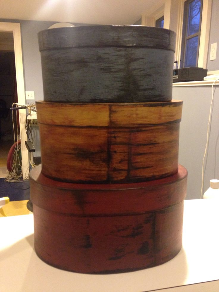 36 best orchard house primitives do it yourself projects can be another set of shaker boxes i have painted getting ready to sell solutioingenieria Gallery